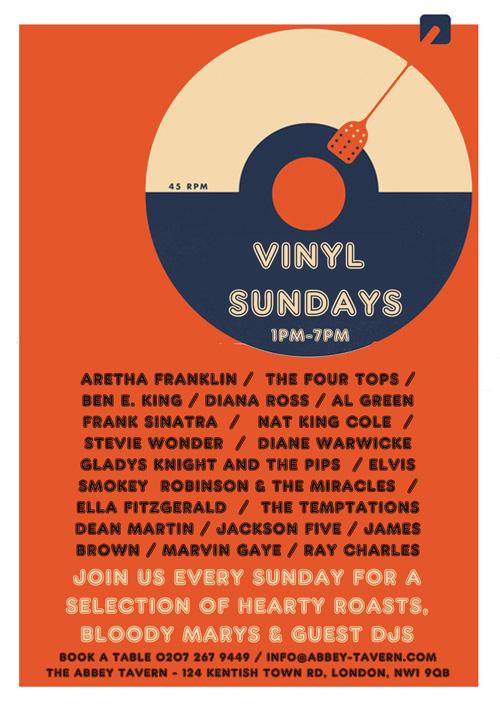 Abbey Tavern - Vinyl Sundays