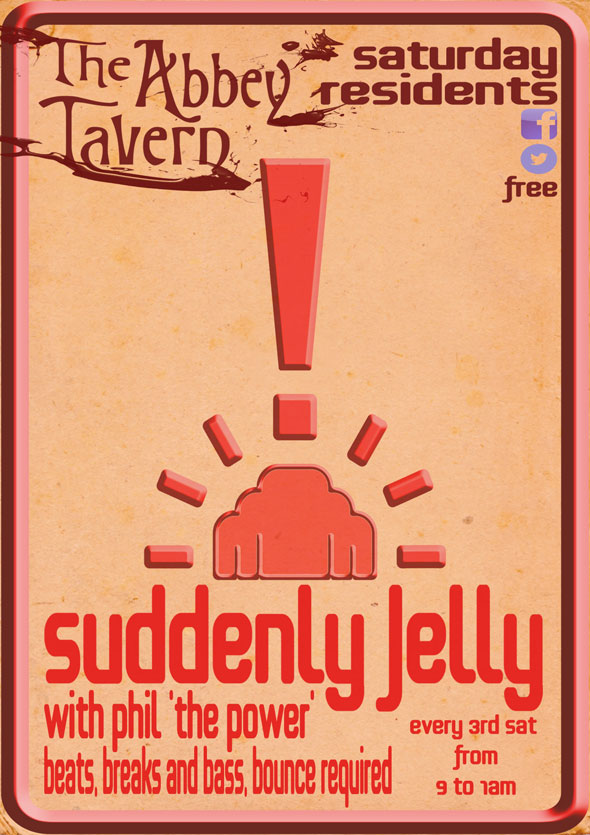 Suddenly Jelly at Abbey Tavern