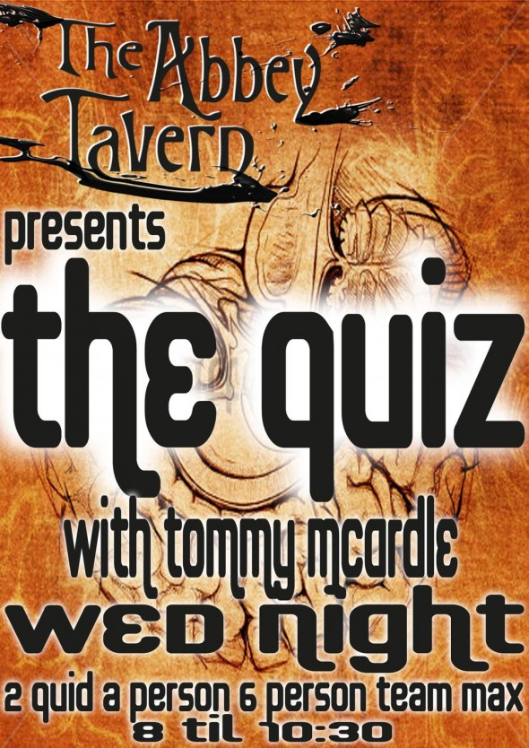Abbey Tavern Pub Quiz