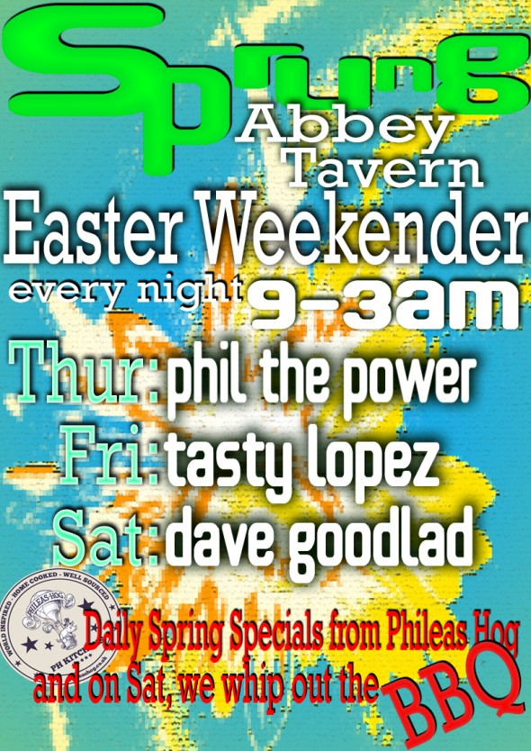 Abbey Tavern Easter Weekend 2015