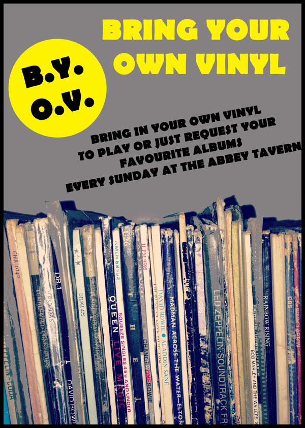Bring Your Own Vinyl